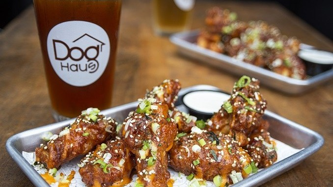 Dog Haus-LTO-Chris Oh's Korean Fried Chicken Wings
