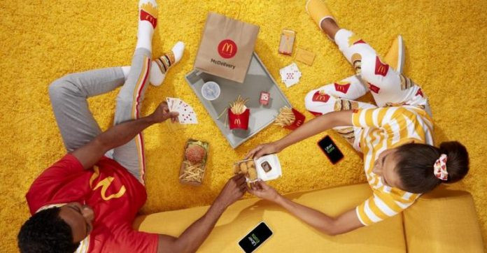 McDelivery botched swag event